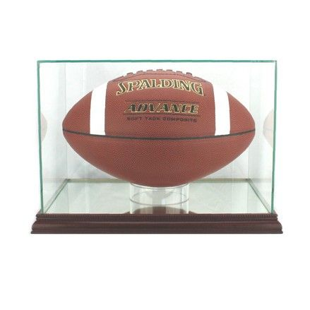 FOOTBALL RECTANGLE DISPLAY CASE